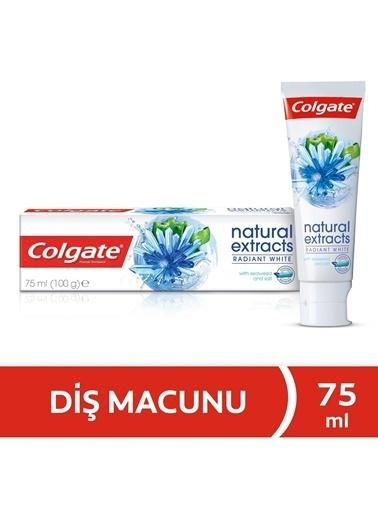 Colgate Colgate Natural Extracts Radıant Whıte Diş Macunu 75 Ml Renksiz